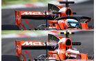 McLaren - F1-Technik - Upgrades - GP Belgien / GP Italien 2017