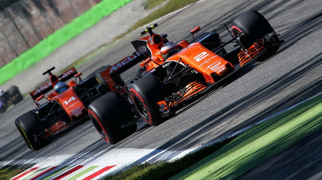 McLaren - Formcheck - GP Italien 2017