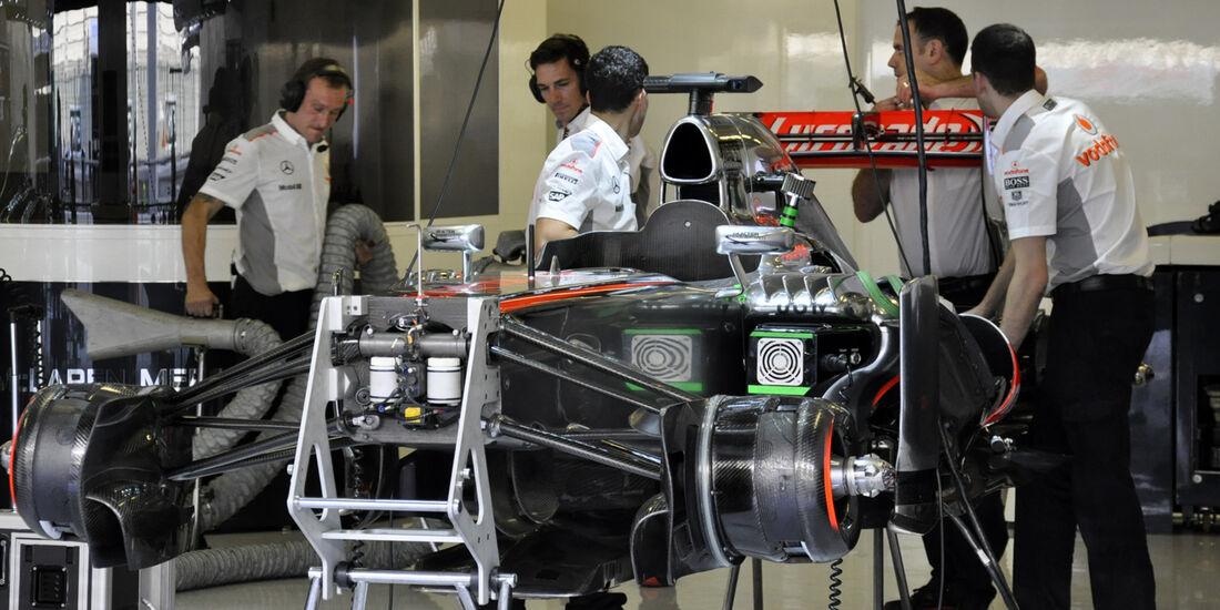 McLaren  - Formel 1 - GP Abu Dhabi - 01. November 2013