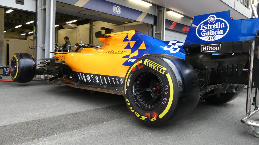 McLaren - Formel 1 - GP Aserbaidschan - Baku - 25. April 2019