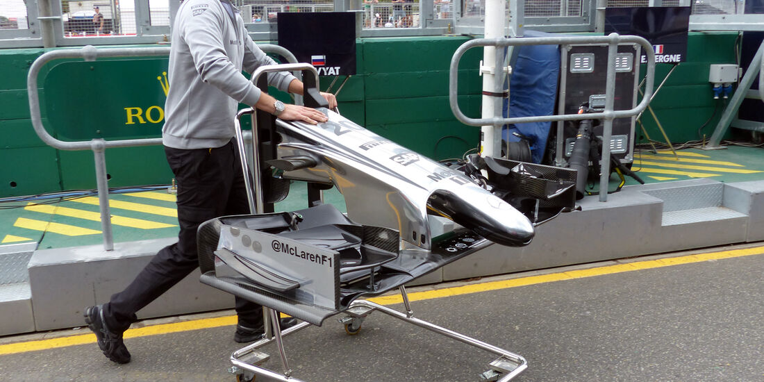 McLaren  - Formel 1 - GP Australien - 15. März 2014