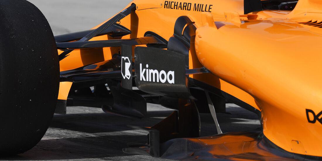 McLaren - Formel 1 - GP Bahrain - 7. April 2018