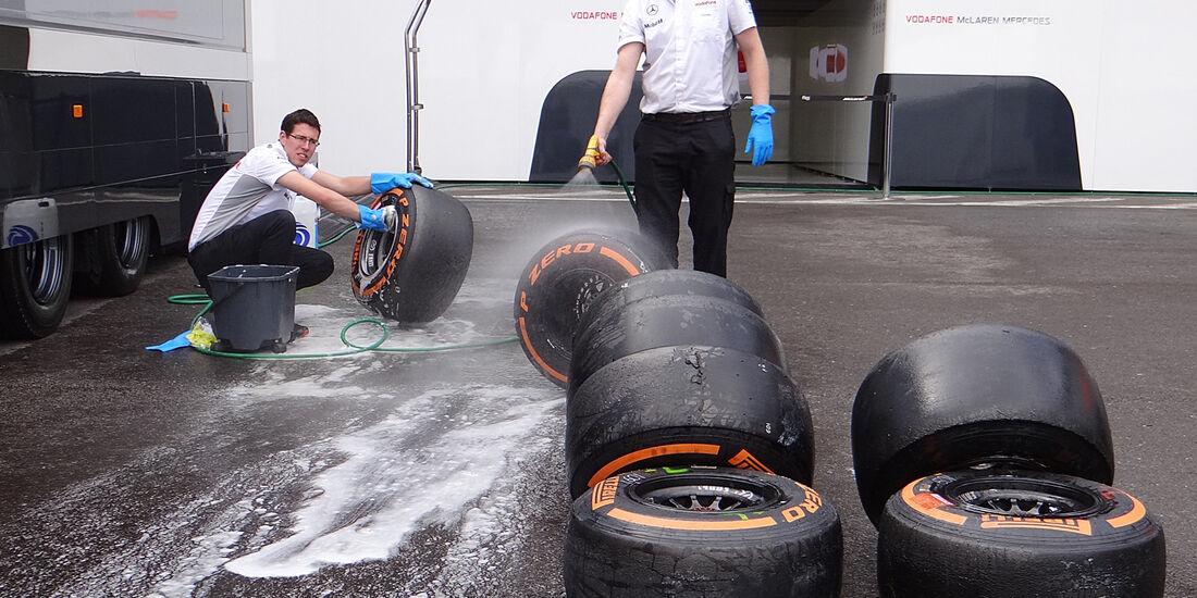 McLaren - Formel 1 - GP Belgien - Spa Francorchamps - 23. August 2013