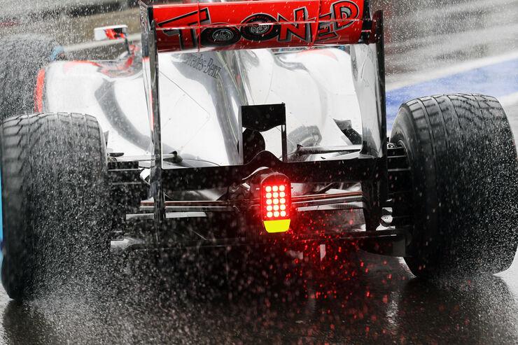McLaren - Formel 1 - GP Belgien - Spa-Francorchamps - 31. August 2012