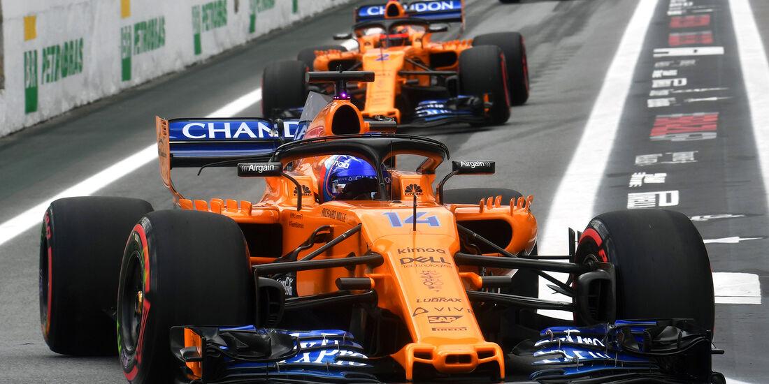 McLaren - Formel 1 - GP Brasilien 2018