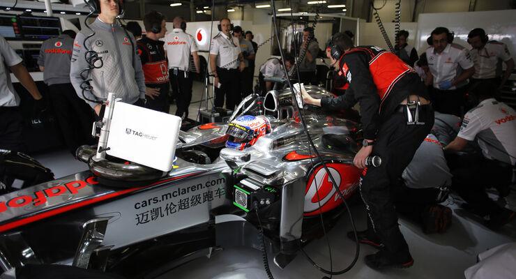 McLaren - Formel 1 - GP China - 13. April 2013