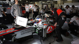 McLaren - Formel 1 - GP China - 13. April 2013