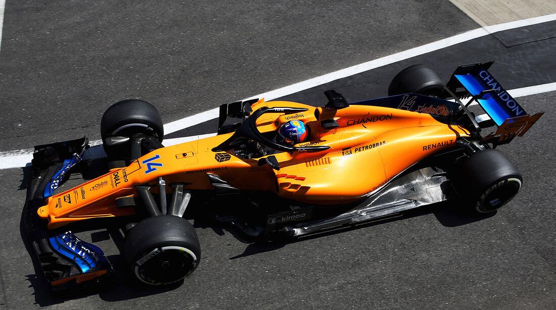 McLaren - Formel 1 - GP England 2018