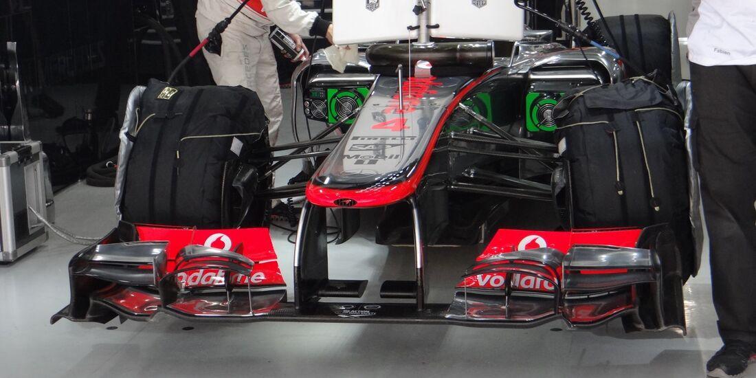 McLaren  - Formel 1 - GP Indien - 26. Oktober 2012