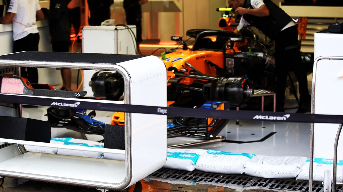 McLaren - Formel 1 - GP Italien - 31. August 2018