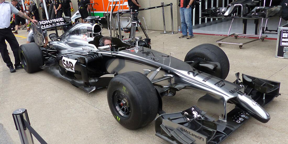 McLaren - Formel 1 - GP Kanada - Montreal - 5. Juni 2014