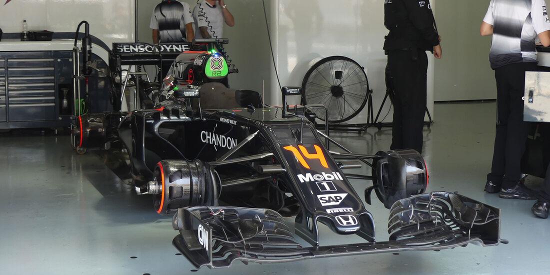 McLaren -  Formel 1 - GP Malaysia - Freitag - 30.9.2016