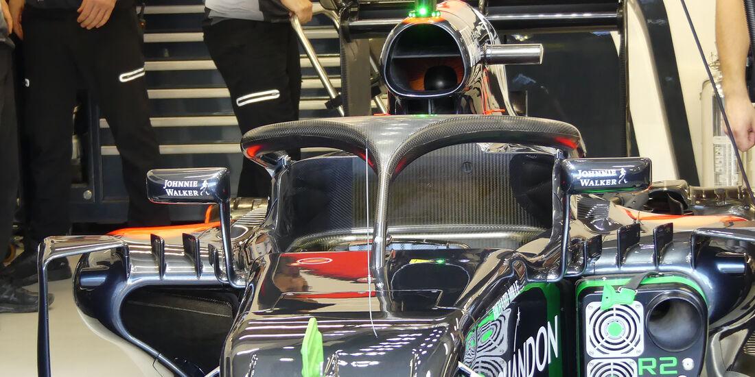 McLaren - Formel 1 - GP Singapur - 16. September 2016