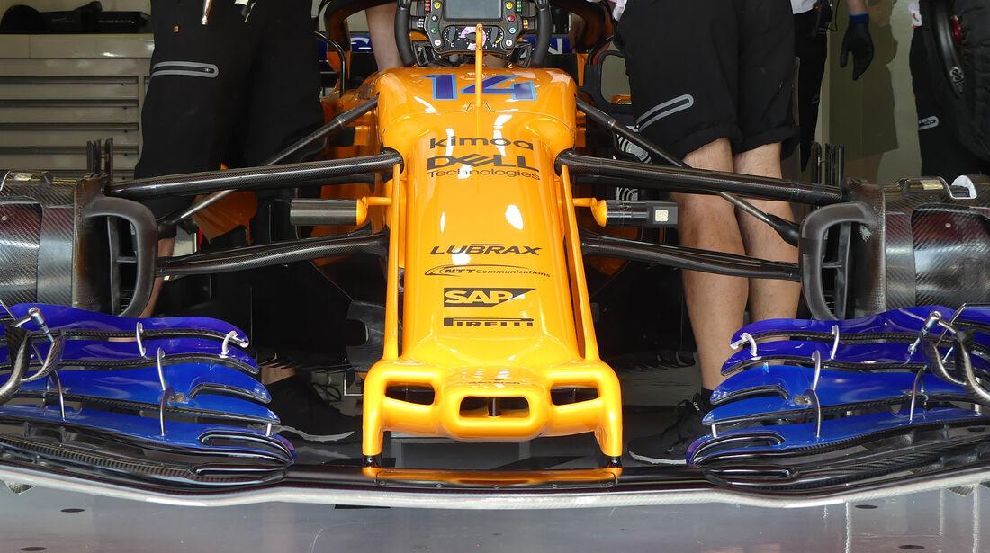 McLaren - Formel 1 - GP Spanien - Barcelona - 11. Mai 2018