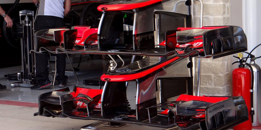 McLaren - Formel 1 - GP USA - Austin - 16. November 2012