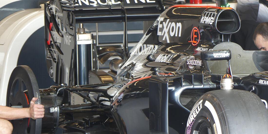 McLaren - Formel 1 - GP USA - Austin - 20. Oktober 2016