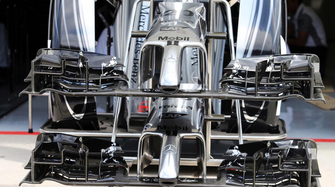McLaren - Formel 1 - GP Ungarn - 24. Juli 2014