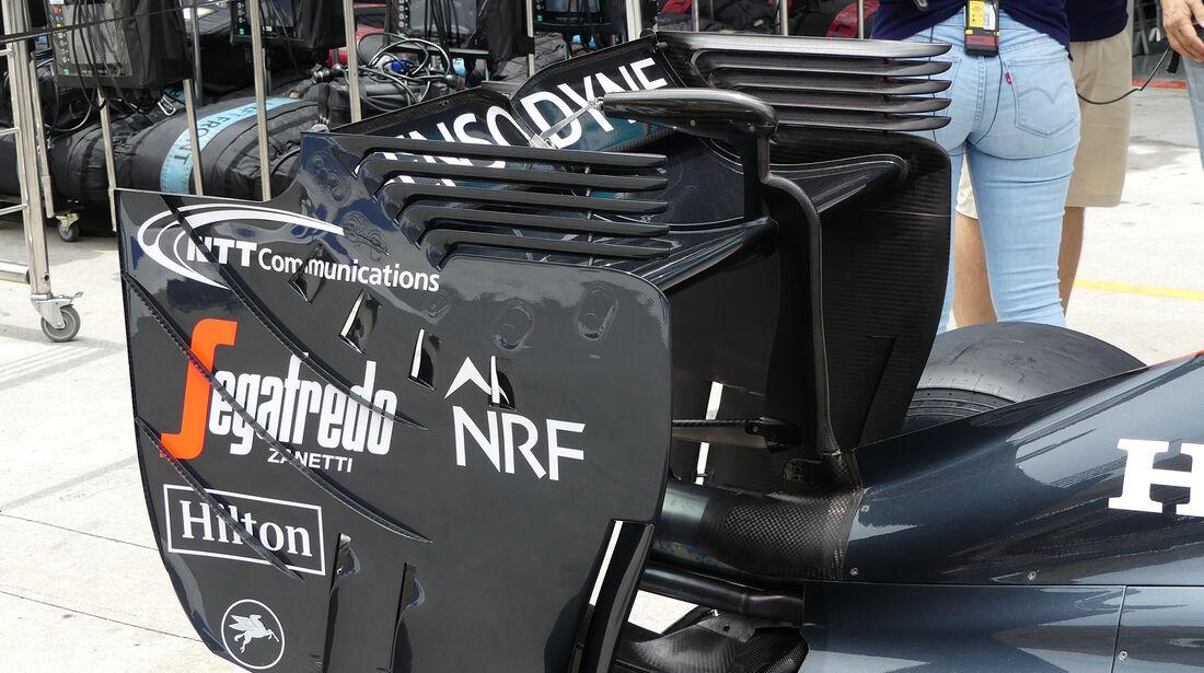 McLaren - Formel 1 - Technik - GP Malaysia / GP Japan - 2016