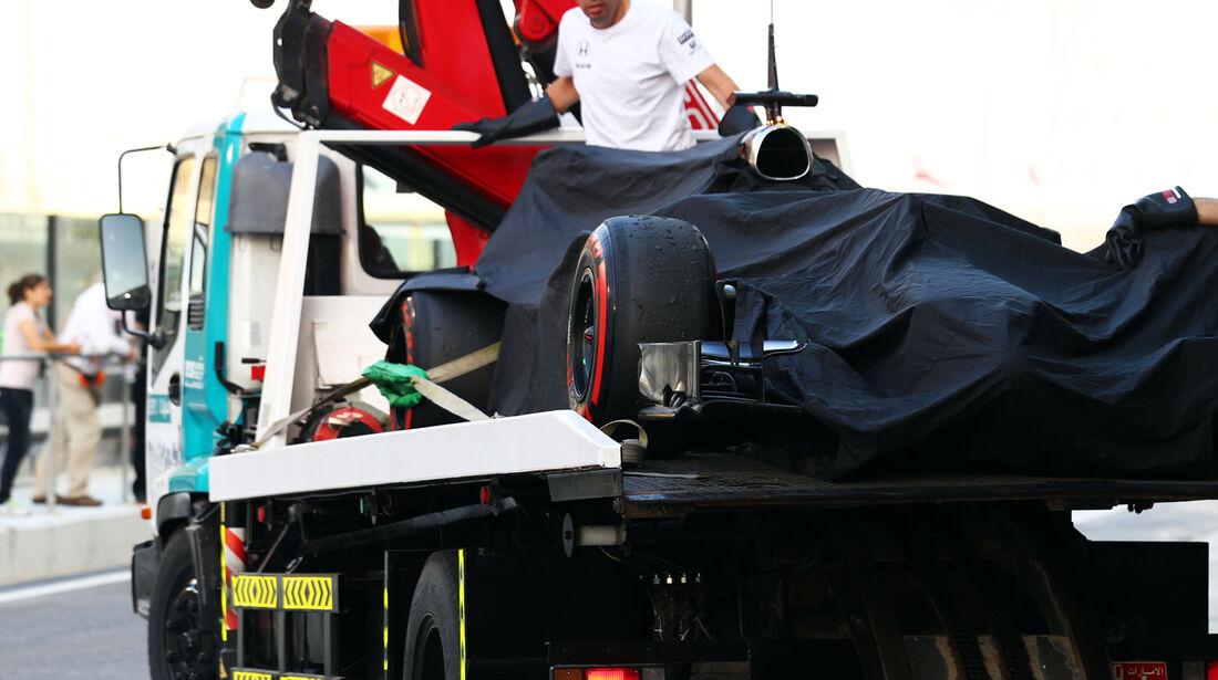 McLaren - Formel 1 - Test - Abu Dhabi - 26. November 2014