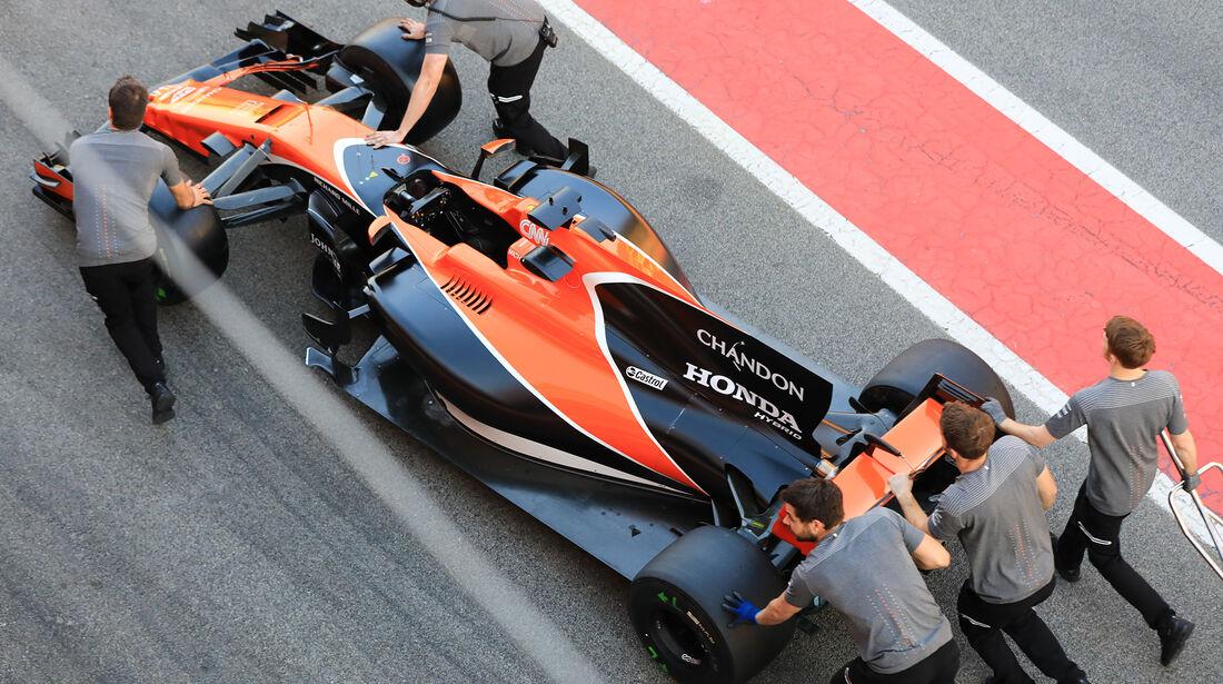 McLaren - Formel 1 - Test - Barcelona - 9. März 2017