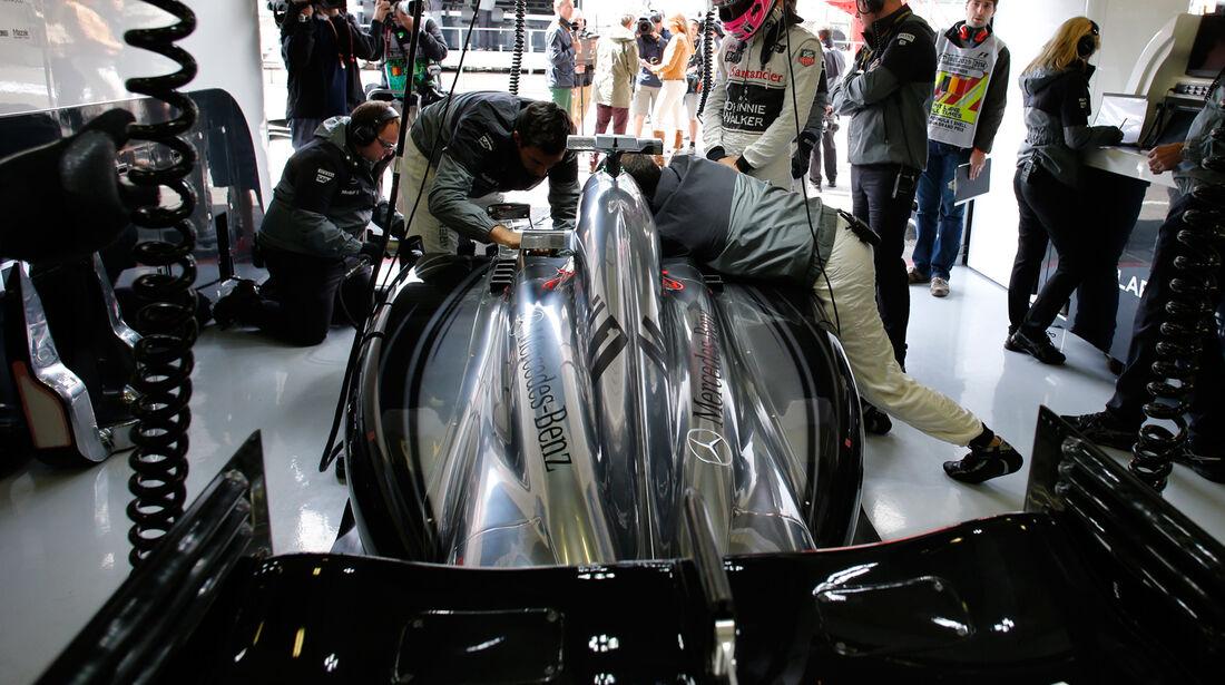 McLaren - GP Belgien 2014
