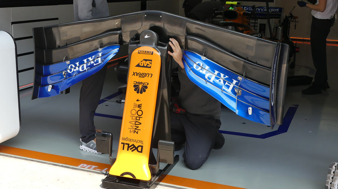 McLaren - GP China - Shanghai - Formel 1 - Freitag - 12.4.2019