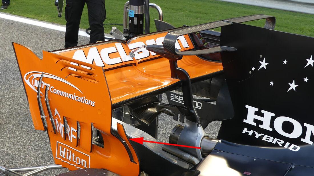 McLaren - GP China - Technik - Formel 1 - 2017
