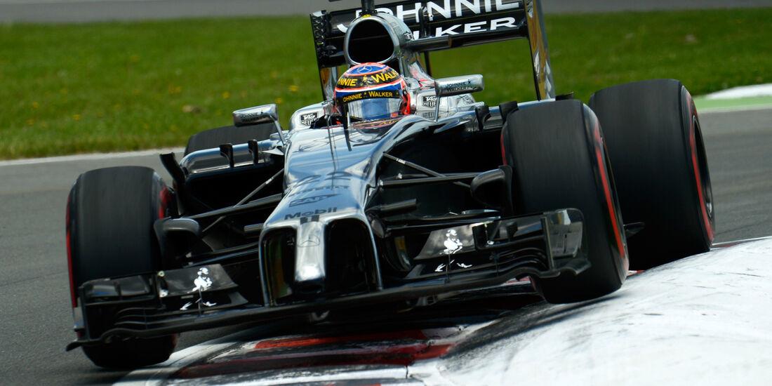 McLaren - GP Kanada 2014