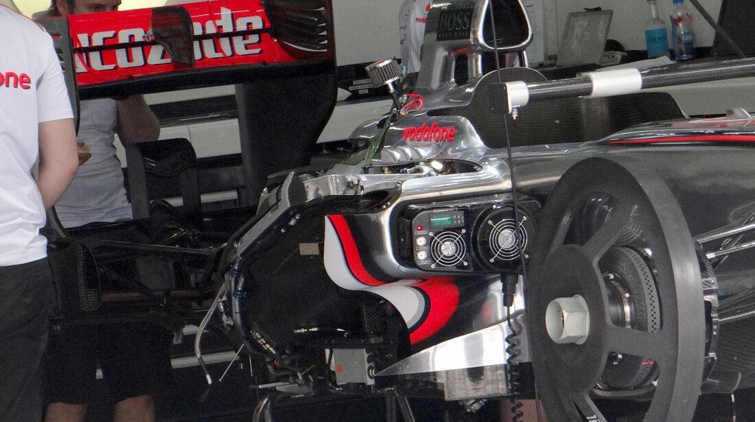 McLaren - GP Malaysia - 22. März 2012