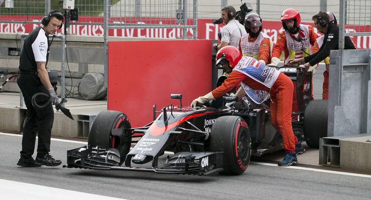McLaren - GP Österreich - 2015