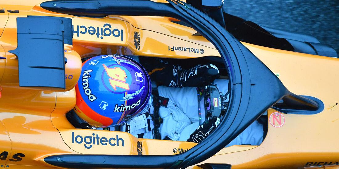 McLaren - Halo - F1-Test - Barcelona - 2018