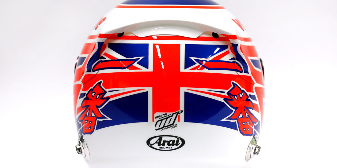 McLaren Helm Jenson Button F1 2013