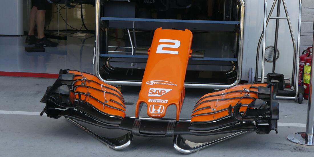 McLaren-Honda - GP Ungarn - Budapest - Formel 1 - 28.7.2017