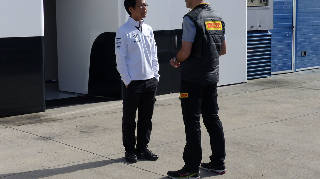 McLaren-Honda - Impressionen - Jerez - Formel 1-Test - 31. Januar 2015