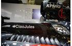 McLaren - Jules Bianchi-Aufkleber - GP Ungarn 2015