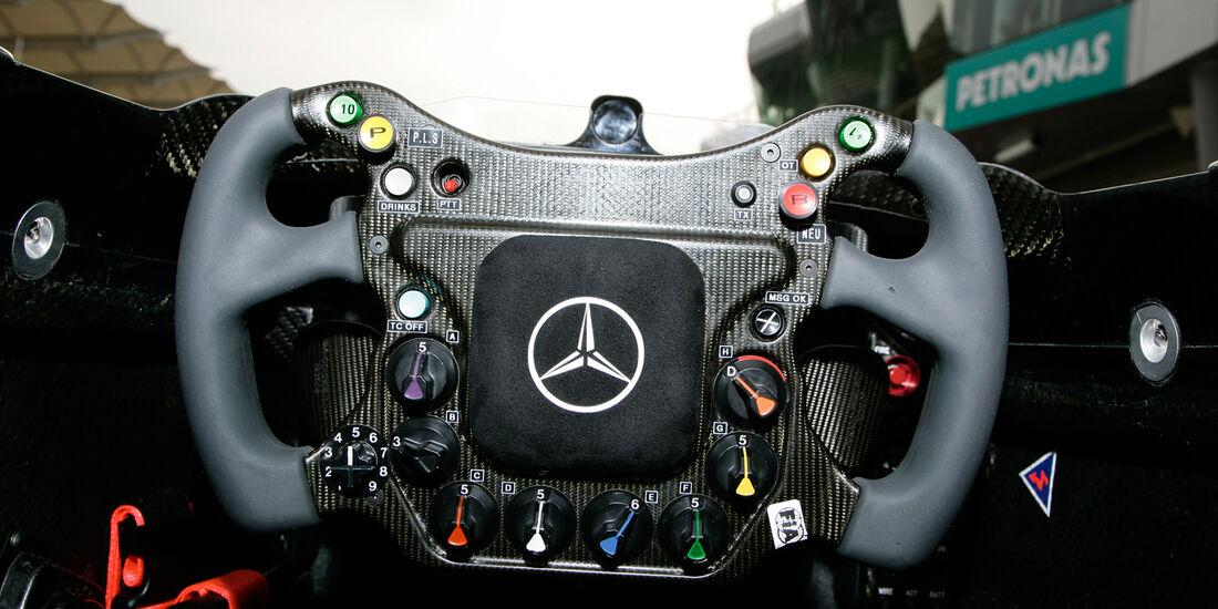 McLaren Lenkrad 2006