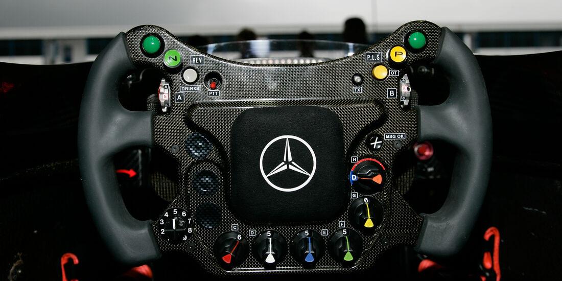 McLaren Lenkrad 2008