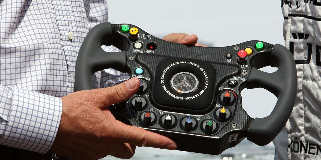 McLaren Lenkrad GP Monaco 2006 Diamanten