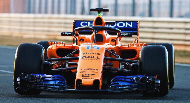 mclaren mcl33 für die f1-saison 2018: bilder, infos und daten - auto