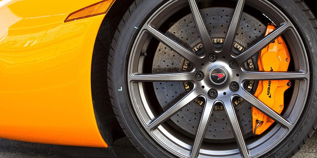 McLaren MP4-12C, Bremse