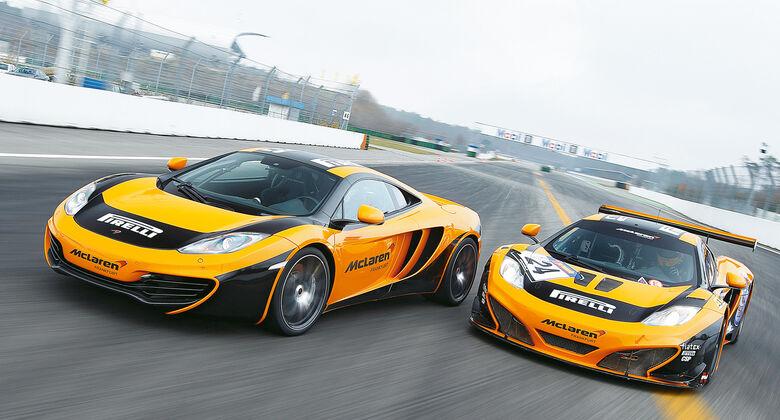 McLaren MP4-12C GT3, Dörr-McLaren MP4-12C Clubsport, Frontansicht