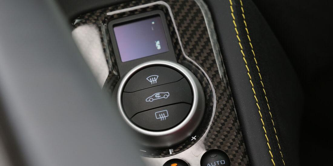 McLaren MP4-12C Spider, Bedienelement