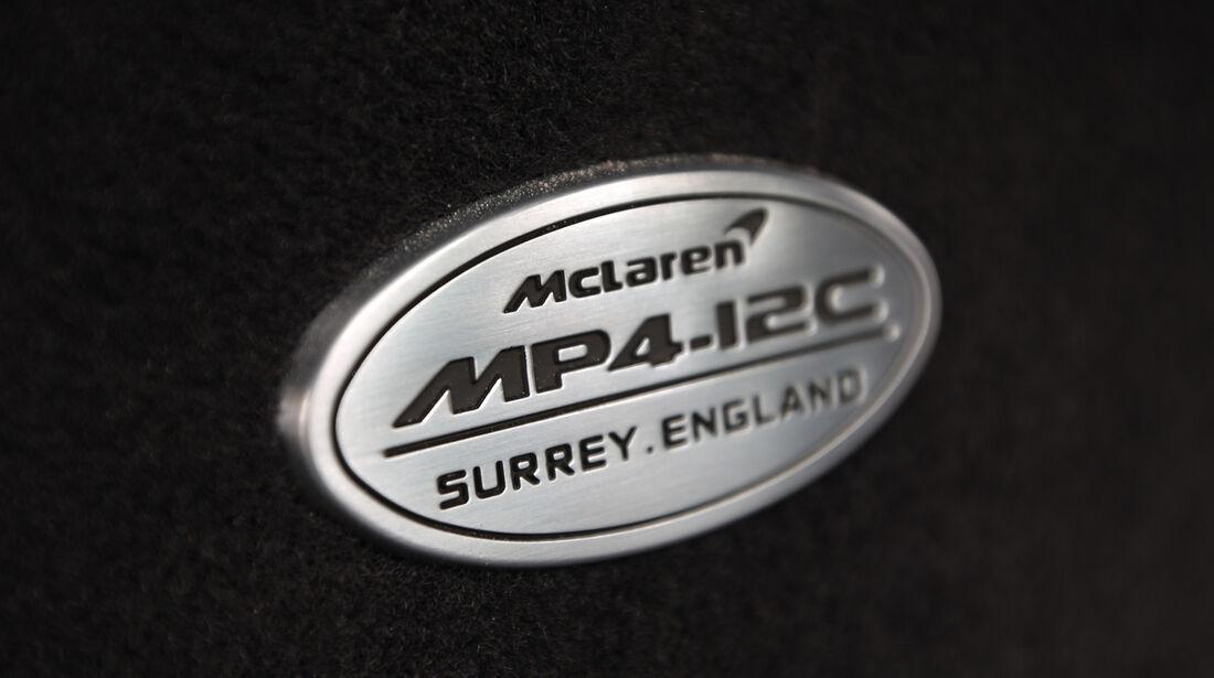 McLaren MP4-12C Spider, Typenbezeichnung