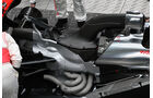 McLaren MP4-26, Auspuff