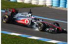 McLaren MP4-26 Test