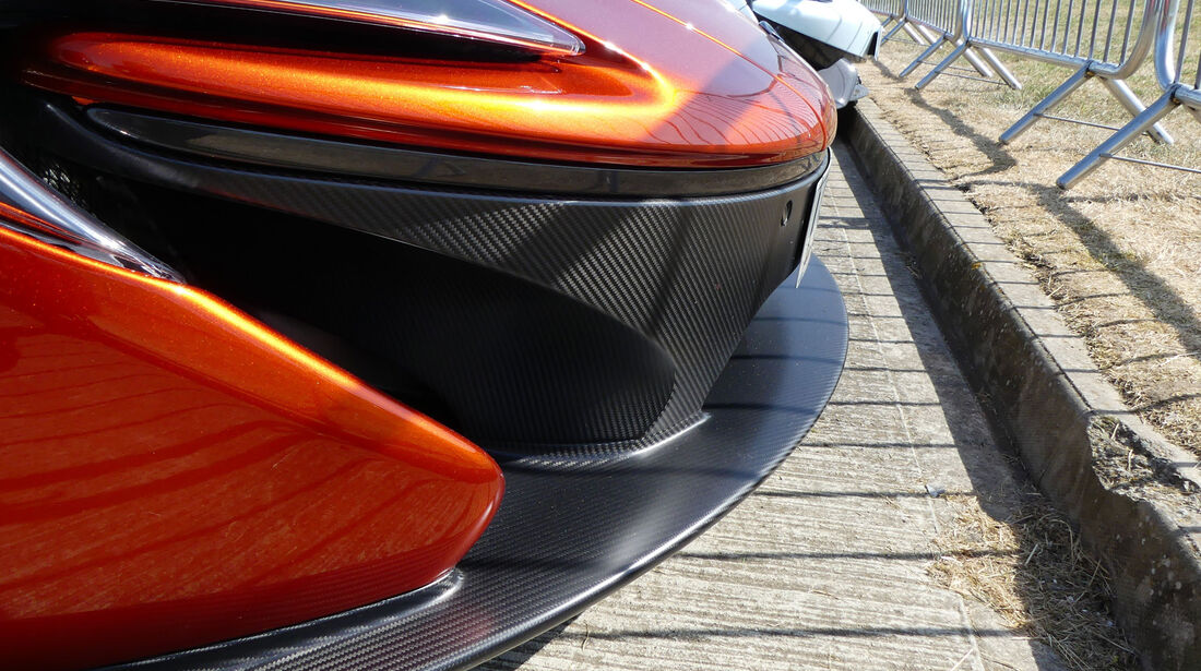 McLaren P1 - Fahrerautos - GP England 2018 - Silverstone