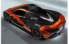 McLaren P1 - McLaren MCL32 - Lackierung