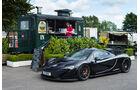 McLaren P1, Seitenansicht