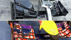 McLaren - Red Bull-Vergleich - Formel 1 - Abu Dhabi 2014