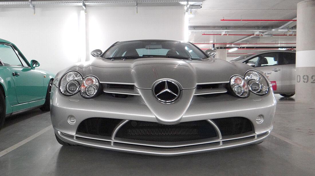 McLaren SLR - Garage Gerard Lopez 2013